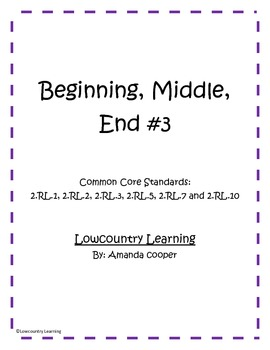 Beginning, Middle and End vol.3 - Common Core Aligned 2.RL