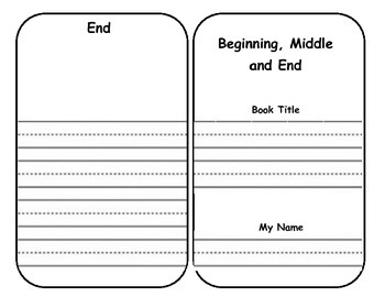 Beginning, Middle and End Summarizing Book
