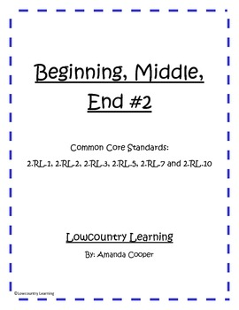 Beginning Middle and End vol.2 - Common Core Aligned 2.RL.