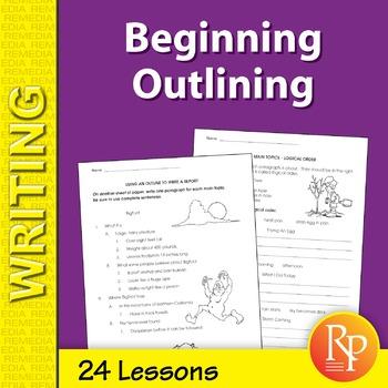 Beginning Outlining