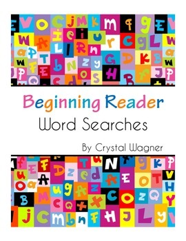 Beginning Reader Word Searches