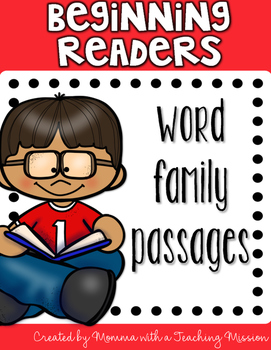 Beginning Readers - Word Families Passages