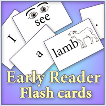 """Am, An, At sounds - Cut and color """"Early Reader"""" flash cards"""