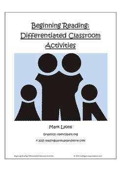 Beginning Reading: Differentiated Classroom Activities