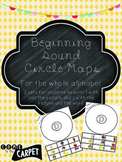 Beginning Sound (A-Z) Circle Map Sorts