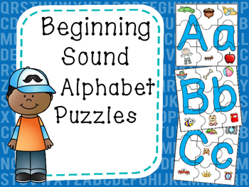 Beginning Sound Alphabet Puzzles