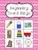 Beginning Sound Bingo!