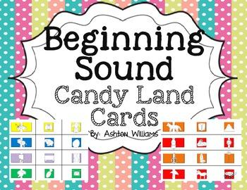 Beginning Sound Candy Land Cards