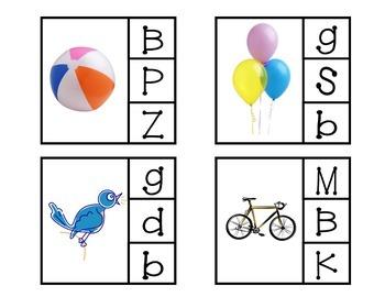 Beginning Sound Center - Letter B