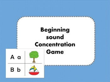 Beginning Sound Concentration