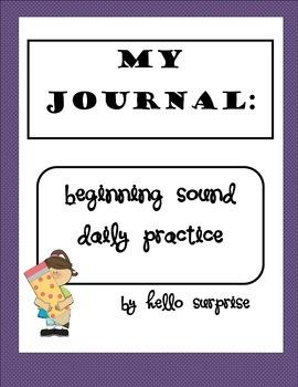 Beginning Sound Daily Practice Journal