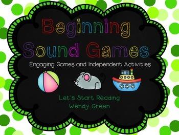 Beginning Sound Games