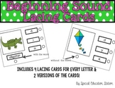 Beginning Sound Lacing Cards