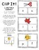 Beginning Sound Literacy Center- Clip It!