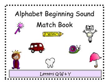Beginning Sound Match Adapted Book 3
