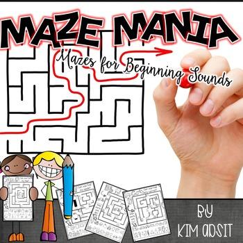 Beginning Sound Mazes by Kim Adsit