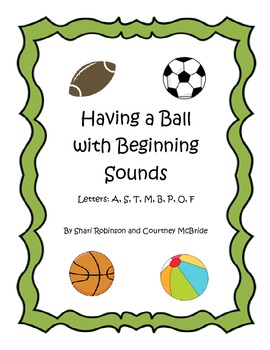 Beginning Sound Practice Sheets #1