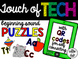 Beginning Sound Puzzles with QR codes for Self-Correcting