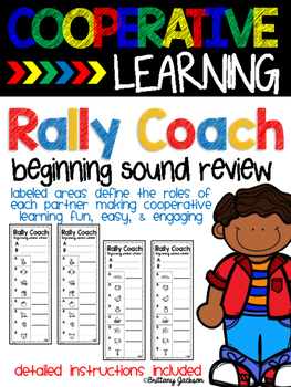 Beginning Sound Review Cooperative Learning Structure Rally Coach