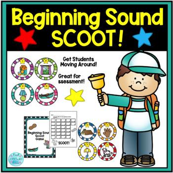 Beginning Sound Scoot Game