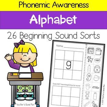Beginning Sound Sorts - Letter Sound Sorts