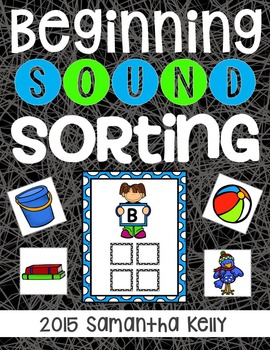 Beginning Sounds Sorting Station