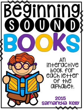 Beginning Sounds Interactive Books