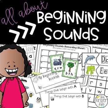 Beginning Sounds BLOWOUT- 5 Interactive Activities to Mast