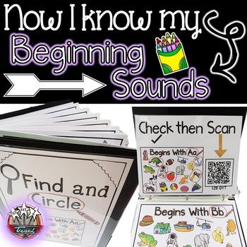 Beginning Sounds {Beginning Sounds Center and Vocabulary w