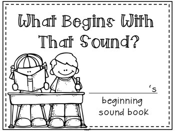 Beginning Sounds Book