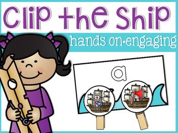 Beginning Sounds Clip the Ship!