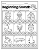 BEGINNING SOUNDS: Color, Dab, or Write