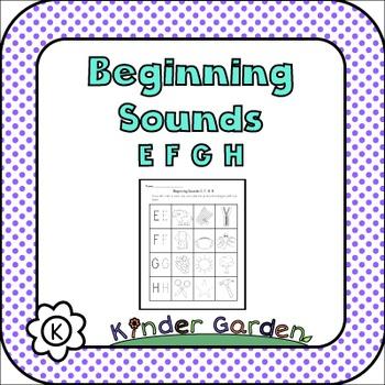 Beginning Sounds: EFGH