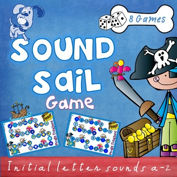 Beginning Sounds Game - Sound Sail