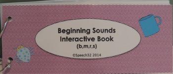 Beginning Sounds Interactive Book 1