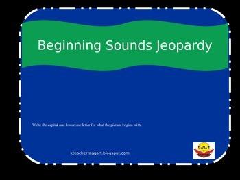 Beginning Sounds Jeopardy 2