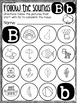 Beginning Sounds: Letters A-C Sound Mazes (PREVIEW FREEBIE!)