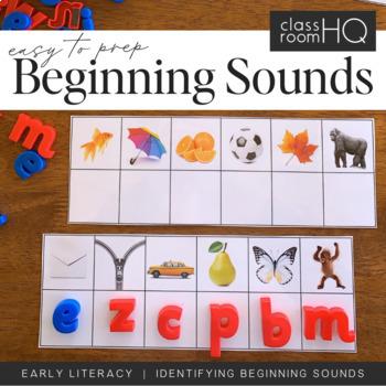 Beginning Sounds Match Cards