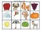 Beginning Sounds Memory and Musical Chairs-Kindergarten an