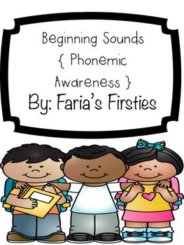 Beginning Sounds Phonemic Awareness Center