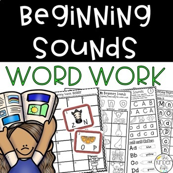 Beginning Sounds Phonic Suitcase: 7 Print & Go RTI & Cente