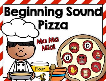Beginning Sounds Pizza