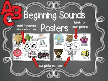 Beginning Sound Posters