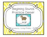 Beginning Sounds Practice Center