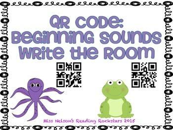 Beginning Sounds QR Code Activity!
