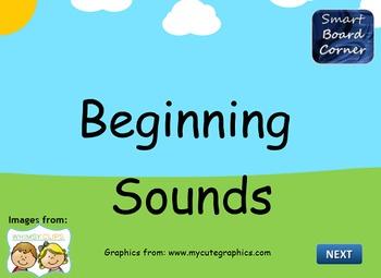 Beginning Sounds SMART Board Lesson