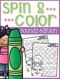 Beginning Sounds Spin and Color
