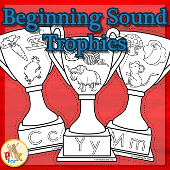 Beginning Sounds Trophies