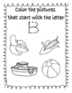 Beginning Sounds Worksheet Bundle (A through Z)