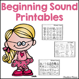 Beginning Sounds Printables
